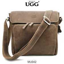 MU042 Mubo UGG Vintage Mens Genuine Leather Bag Messenger Shoulder Bag