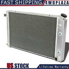 4 Row Aluminum Radiator For 1973-1987 Chevy C/K C10 C20 C30 K10/ Blazer 1973-91