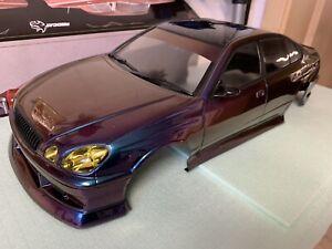 Pandora 1/0 Toyota Lexus Aristo Drift Karosserie 257-260m Radstand Tamiya Hpi