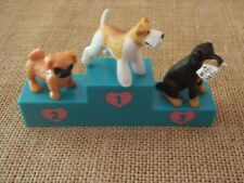 Vintage Hasbro Puppy in My Pocket Lot Set Pug Fox Terrier No Cards