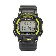 Casio Para Hombre Super Iluminador Vibración Alarma Reloj Correa Resina 44mm W736H-3AV