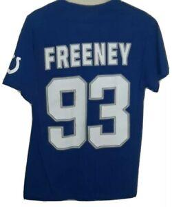 NFL Indianapolis Colts #93 Dwight Freeney Jersey Shirt! Adult Medium.