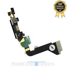 iPhone 4 schwarz Lade Buchse Anschluss Dock Connector Microfon Flexkabel OEM010