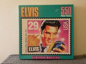 """MB 550 Pc Puzzle """"Elvis"""" Limited Edition"""