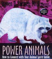 POWER ANIMALS / STEVEN D FARMER 9781401903329 ANIMAL SPIRIT GUIDE HARDBACK & CD