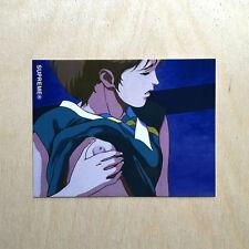 Supreme vinyl sticker decal skateboard Toshio Maeda Overfiend anime girl Huf SK8