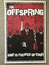 The Offspring Official Sifu Tour Poster