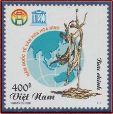 VIETNAM N°1872** UNESCO, 2000 Vietnam 2942 Year of Culture & Peace MNH