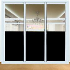 0%VLT Black Window Film Glass Sticker Home Glass Decor Privacy UV PRoof