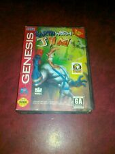 EARTHWORM JIM USA x SEGA GENESIS MEGADRIVE MD NTSC - EARTH WORM JIM 1 Vedi Foto