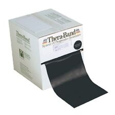 Thera-Band (Black) by the FOOT Special-Heavy--Resistance Free SHIPPING theraband
