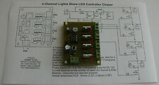 4 CANALI LUCI mostra LED Controller Chaser hk9984