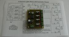 Luces de canal 4 LED controlador CHASER HK9984 Show