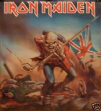 Iron Maiden 22x25 Trooper Poster 1984 Original