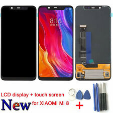 New For XIAOMI Mi8 Mi 8 LCD Display Touch Screen Digitizer Assembly Replacement