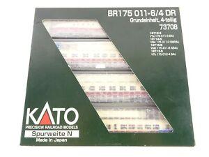 Kato N 73708 Diesel Triebwagen BR 175 011-6/4 DR Grundeinheit 4 tlg. OVP