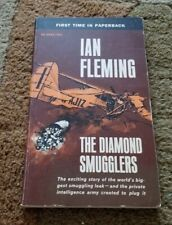 1957 THE DIAMOND SMUGGLERS Ian Fleming True Crime True Account 1st Paperback