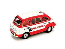 FIAT 600 MULTIPLA AMARO ISOLABELLA 1960 1:43 MODELLINO AUTO FURGONE BRUMM SCALA