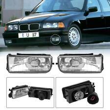 1 Pair Front Bumper Halogen Driving Fog Lights for BMW E36 3-Series 1992-1998
