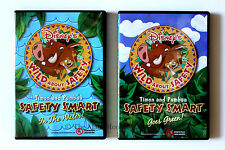 Timon & Pumbaa Wild About Safety 2 Pack Safety Smart In The Water and Goes Green
