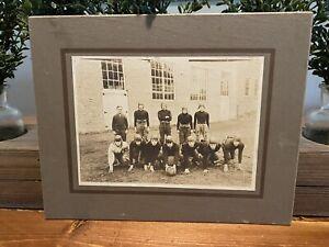 Early 1900's cabinet football photo Rare