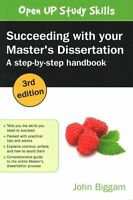 Succeeding with Your Master's Dissertation: A Step-by-Step Handboook VGC