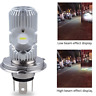 Motorcycle LED H4 HS1 Hi Lo COB Light Headlight Motorbike Bulb Lamp 6500K 1500LM