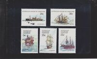 1979 AAT Australia Post - Design Set - Ships of the Antarctic - PART I - MNH