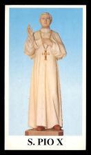 santino-holy card*S.PIO X PAPA-SALTO DEI FONDI