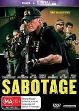 Sabotage (DVD/UV, 2014, Region 4)