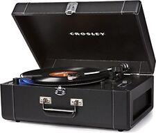 Crosley Keepsake Deluxe Portable USB Turntable-Black CR6250A-BK Turntable NEW