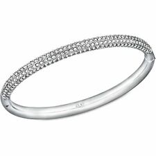 SWAROVSKI Crystal Stone Bangle White Rhodium Plated M 5032846