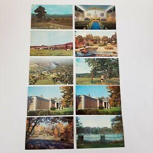 Vtg Western Maryland Postcards Lot Of 10 Historic Landmarks/Buildings Hagerstown