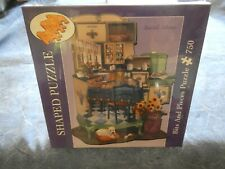 750 PIECE  SHAPED JIGSAW PUZZLE ~ BITS AND PIECES - CLASSIC COOKING ~ SEALED!!!