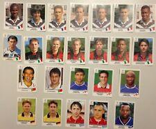 LOT 24 STICKERS PANINI UEFA CHAMPIONS LEAGUE 1999 - 2000