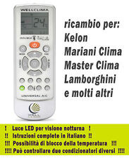Telecomando condizionatore Kelon Lamborghini Mariani Clima Master climatizzatore