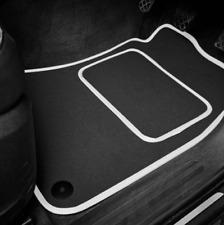 High Quality Car Floor Mats Set In Black/White To Fit Hyundai ix35 (2010-2015)