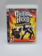 Guitar Hero World Tour—PS3–Preowned Condition—Instructions Included