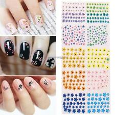 30 Sheets Nail Art Design Water Transfer Nails Sticker Floer Nails Wraps NC89