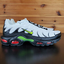 Nike Air Max Plus SE Running Men's Shoes AJ2013-100 Black White Volt