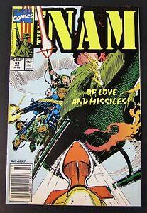 Marvel Comic THE ' NAM #49, 1990 NM/M  (lot a)