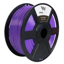 Purple PLA 1.75mm WYZworks 3D Printer Premium Filament 1kg/2.2lb