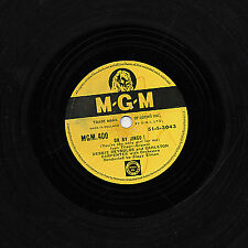 DEBBIE REYNOLDS & CARLETON CARPENTER 78 OH BY JINGO! /...MAGGIE BLUES MGM 400 V+