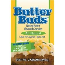 Butter Buds 20 x 2 g, Butter Flavor Sprinkles Granules, Fat Free, Gluten Free