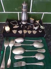 Joblot Antique Silverware - Scrap Silver - Collectables & Curios