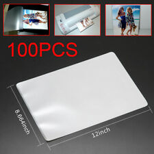 100 Letter Laminating Laminator Pouches Sheets 9 x 11-1/2 3 Mil Scotch Quality