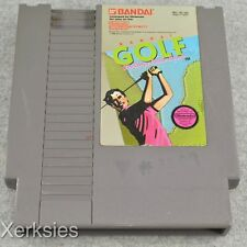 Bandai Golf (Nintendo Entertainment System) NES (Tested and Working) 4293