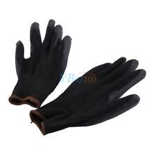 12pair Antistatic Nylon Gloves Work Safety Working Mechanic Grip Garden Builder L