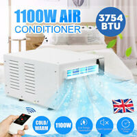 1100W Air Cooler Portable Conditioner Fan Humidifier Evaporate Cool/Warm 3754BTU