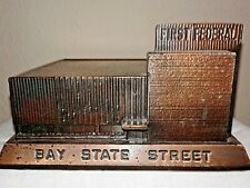 First (1st) Federal Savings Bank of Alhambra, CA Souvenir Building (Rare)